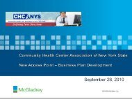 Business Plan - Community Health Care Association of New York ...
