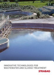 innovative technologies for wastewater and sludge treatment - Strabag