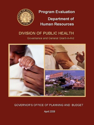 executive summary - Governor's Office of Planning and Budget