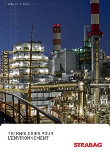 technologies pour l'environnement contact - Strabag AG