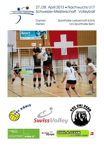 Informationen für Mannschaften Damenturnier (PDF) - VBC-Köniz