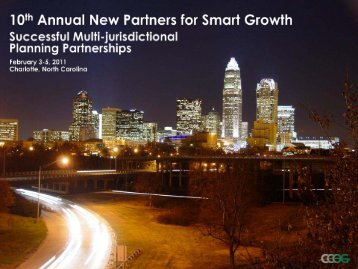 2009 - New Partners for Smart Growth Conference