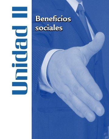 Beneficios sociales Beneficios sociales