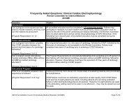 Clinical Cardiac Electrophysiology - acgme