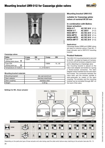 mounting bracket unv 012 for cazzaniga globe valves belimo?quality\\\=85 belimo actuators wiring diagram wiring diagram and schematic  at crackthecode.co