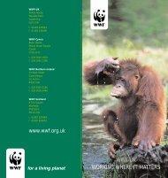 WWF-UK - working where it matters