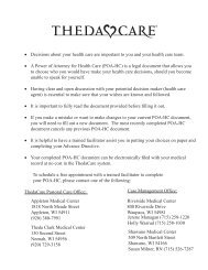 Things to Consider Before Choosing Your Health Care - ThedaCare