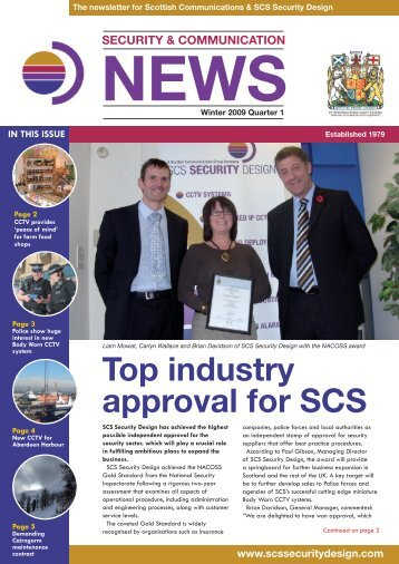 download the Winter 09 Newsletter - Scottish Communications