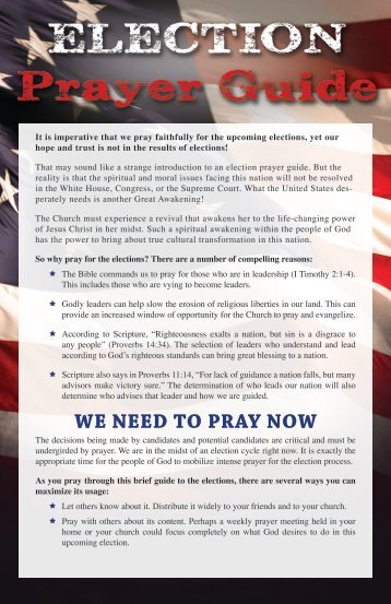 2014-ELECTION-PRAYER-GUIDE