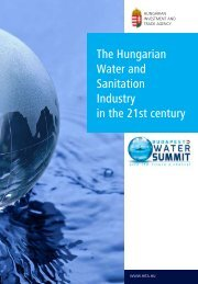 The Hungarian Water and Sanitation Industry in the 21st century