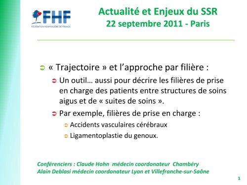 Claude Hohn - Département d'information médicale