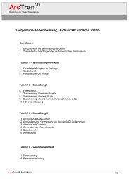 ArchäoCAD Schulungsplan.pdf - ArcTron
