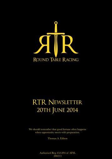 RTR News 20JUN