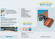 Download - BENTRUP DACH + FASSADE GmbH & Co. KG