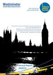 Annual Report 2010/11 - Citizens Advice