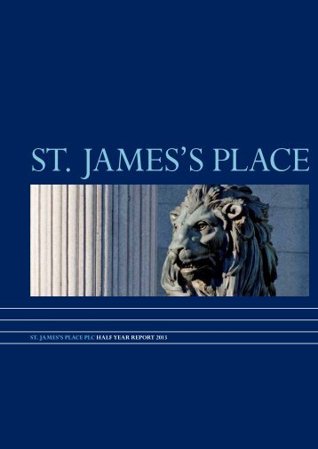 continued - St James's Place