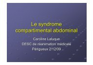 Syndrome du compartiment abdominal
