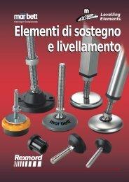 Elementi di sostegno e livellamento Catalogue supporting and ...