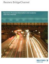 Reuters BridgeChannel - Interactive Brokers
