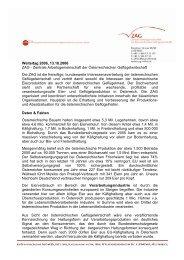 Welteitag 2006, 13.10.2006 ZAG - Zentrale Arbeitsgemeinschaft der ...