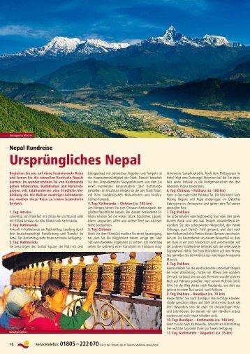 Ursprüngliches Nepal