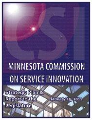 CSI Report 12-3-10 - Legislative Coordinating Commission