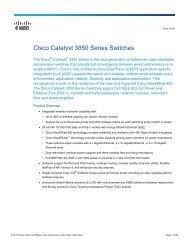 Five Pillars: Assessing the Cisco Catalyst 4948E for