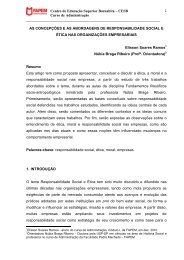 Centro de Educação Superior Barnabita - Faculdade Padre Machado