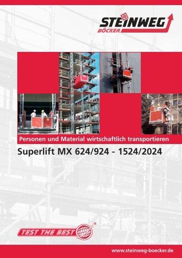 Superlift MX 624/924 - 1524/2024 - Steinweg-Böcker