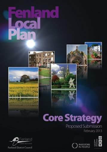 Core Strategy Proposed Submission - Fenland District Council
