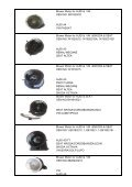 Catalog of Blower Motor - ChengDu Glossy Trading Co., Ltd. - Page 6