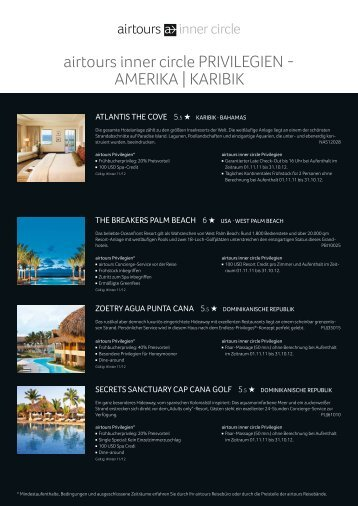 20111058_ati_innercircle_Onlineflyer_AmerikaKaribik ... - Airtours