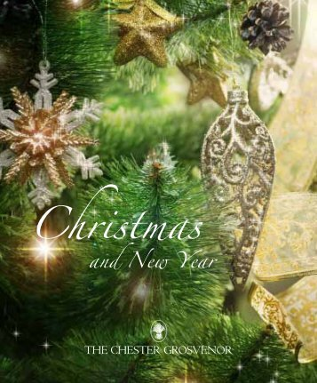 to view our Christmas and New Year brochure. - The Chester ...