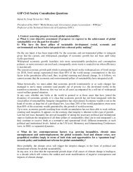 GSP Civil Society Consultation Questions PDF - NGLS