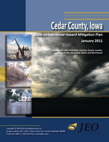 Cedar County Multi-Jurisdictional Hazard Mitigation Plan