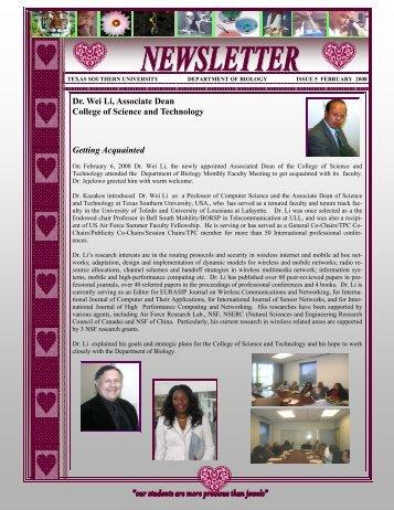 February Newsletter-final-2 - Texas Southern University
