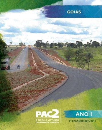 PAC GO - Ministério do Planejamento, Orçamento e Gestão