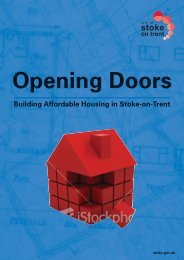What is Affordable Housing? - Stoke-on-Trent City Council