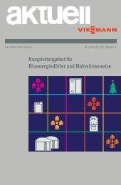 Komplettangebot für Bioenergiedörfer und ... - Viessmann