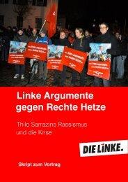 Linke Argumente gegen Rechte Hetze - Christine Buchholz