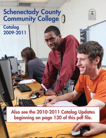 2009-2011 CaTaloG - Schenectady County Community College
