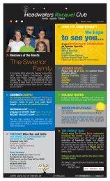 June Newsletter - Headwaters Racquet Club