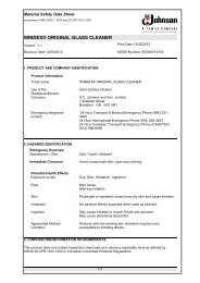WINDEX® ORIGINAL GLASS CLEANER - SC Johnson