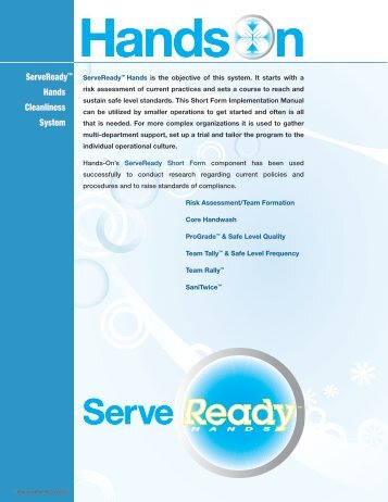 Hands - Handwashing for Life Foodservice