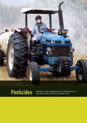Pesticides Booklet.pdf - Department of Labour