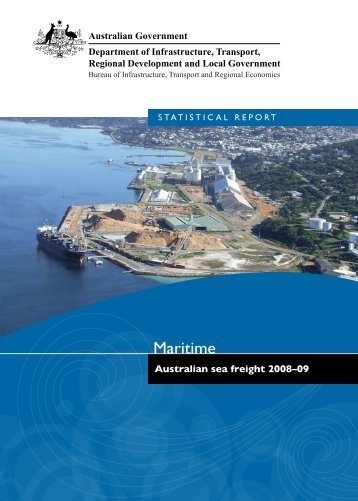 PDF: 12866 KB - Bureau of Infrastructure, Transport and Regional ...