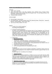 11.01.19 verslag - Gemeente Zwijndrecht