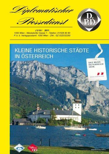 JUNI 2011 1050 Wien - Nikolsdorfer Gasse 1 - Diplomatischer ...