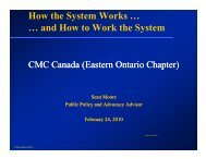 How the System Works … … and How to Work the System … and ...