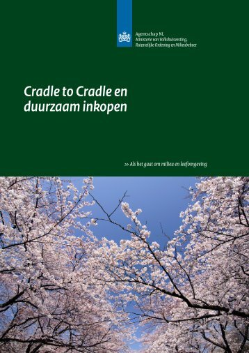 Cradle to Cradle en duurzaam inkopen - Pianoo